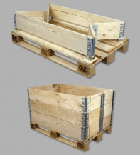 Collars - Pallet Accessories Wooden Stacking Frames