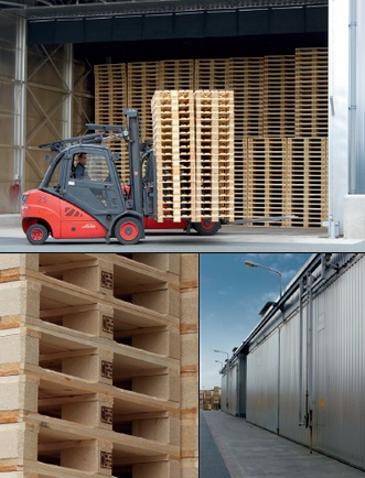 Storage & Drying for pallets